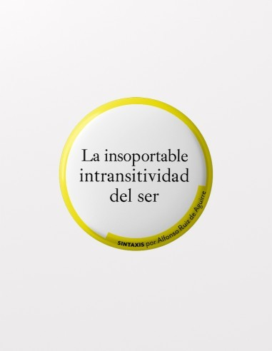 chapa intransitividad