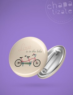 Love is in the bike