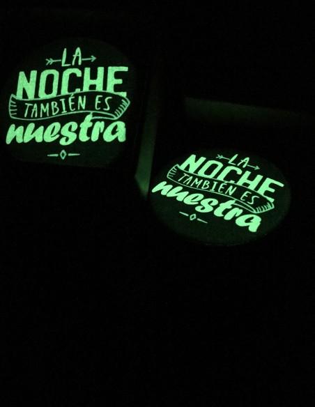 La noche también es nuestra luminiscente