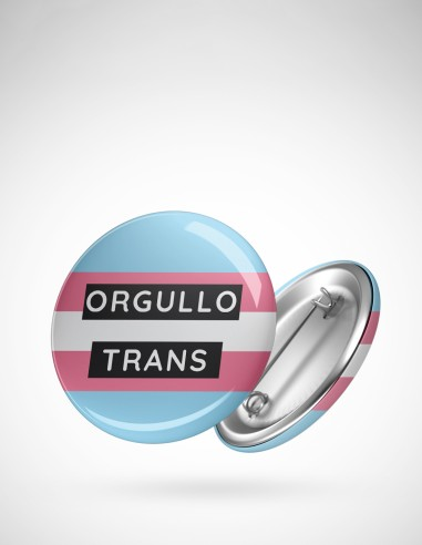 Chapa orgullo trans
