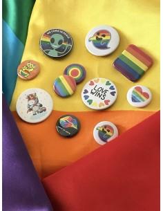 Chapas orgullo gay