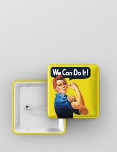 We can do it - cadrada