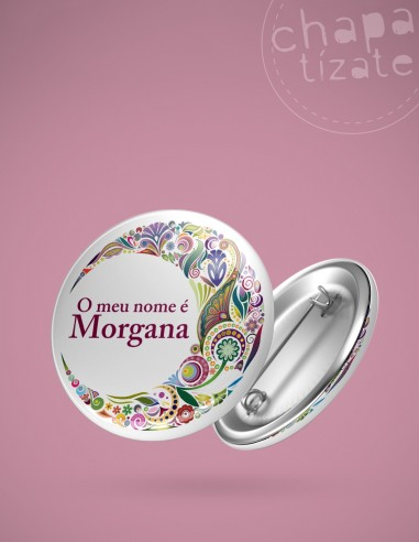 O meu nome é Morgana.