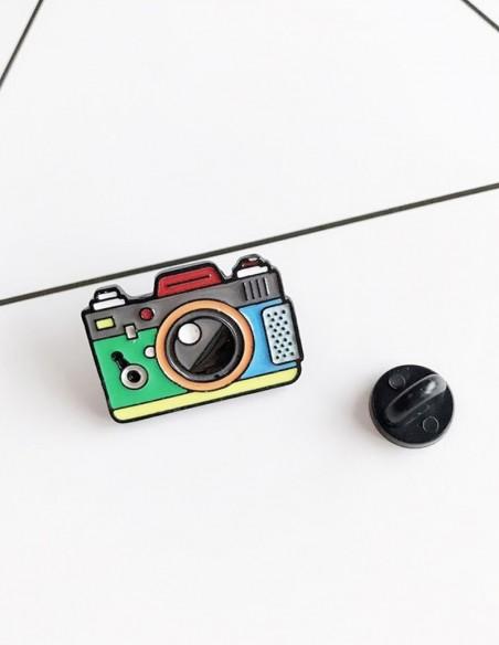 Pin cámara