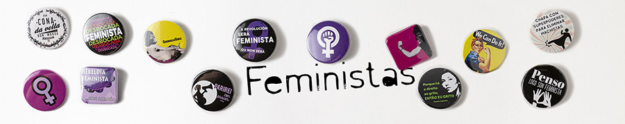 chapas feministas Chapatízate
